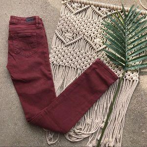 Paige Skyline Skinny Jeans Size 24 Colored Denim